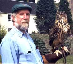 David with owl