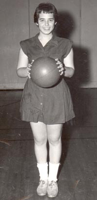 Jane with basketball