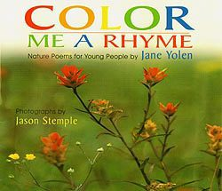 Cover of Color Me a Rhyme by Jane Yolen and Jason Stemple