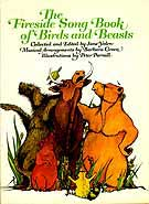 Cover of The Fireside Song Book of Birds and Beasts by Jane Yolen