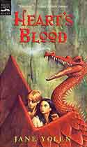Cover of Pit Dragon Trilogy: Heart's Blood by Jane Yolen