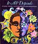 Cover of It All Depends by Jane Yolen