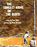 Cover of The Longest Name on the Block by Jane Yolen