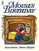 Cover of Mouse's Birthday by Jane Yolen, Illustrated by Bruce Degen