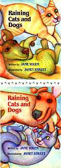 Cover of Raining Cats and Dogs by Jane Yolen