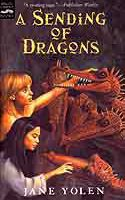 Cover of Pit Dragon Trilogy: A Sending of Dragons by Jane Yolen