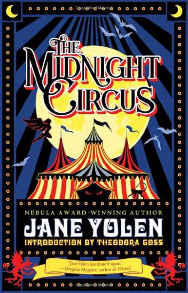 Cover of The Midnight CIrcus by Jane Yolen